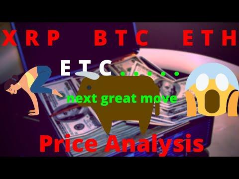 Price Analysis: XRP, BTC, ETH, BCH, BSV, LTX, EOS, BNB, ADA, XTZ