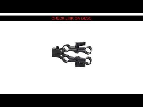 Special US $29.57   Kayulin Multifunction 15mm Dual-port Rod Clamp Railblock Adapter Double Set For