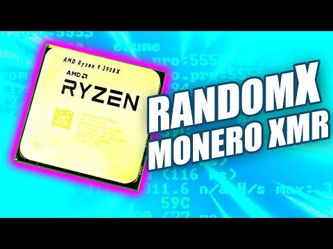 How to CPU mine Monero XMR w/ RandomX on AMD Ryzen R9 3900X