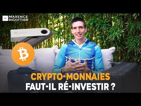 CRYPTO-MONNAIES : Faut-il RÉ-INVESTIR ?