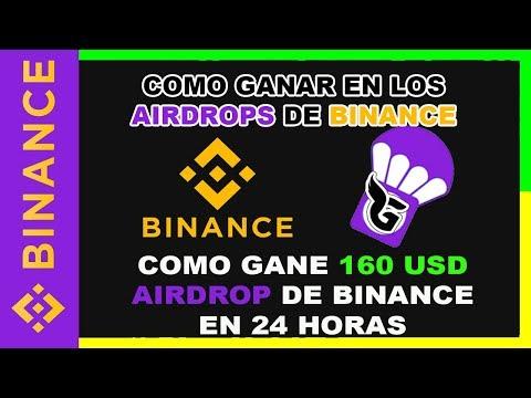 🔥BINANCE como ganar en los airdrops del exchange BINANCE | Coin Gratis
