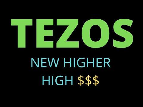 TEZOS just broke a new multi year high🚀🚀🚀💲💲💲