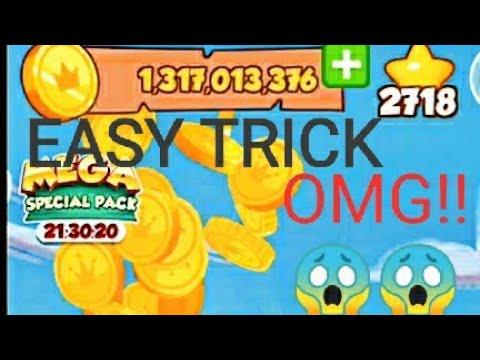 Winning 1.3billion in coin master OMG ||EASY TRICK
