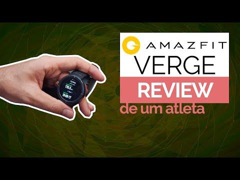 AMAZFIT VERGE – REVIEW DE ATLETA *muitas dicas interessantes*