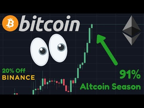 ALTCOINS PUMPING!! | Altcoin Season | How To Get 20% Off FEES ON BINANCE!