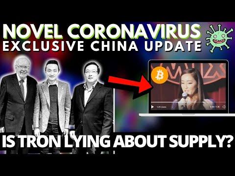 Bitcoin Critic Warren Buffett Meets Justin Sun | Tron Supply Issue? Coronavirus And China!