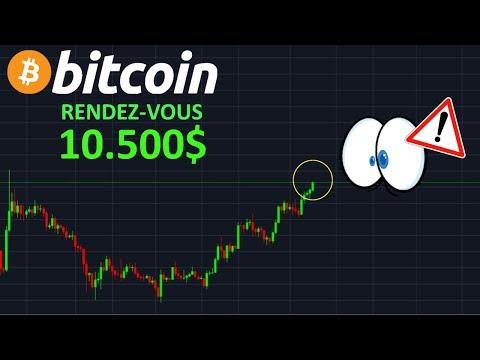BITCOIN VA PETER LES 10.500$  !? btc analyse technique crypto monnaie