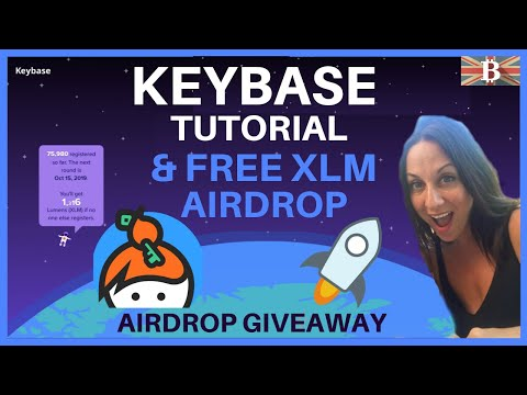 How to Use KeyBase & Earn Free Stellar XLM Airdrop