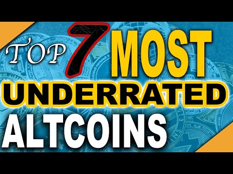 The Top 7 Most Underrated Altcoins in 2020 (Crypto Moonshots)