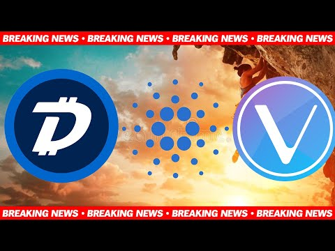 Cardano ADA Reaching Crazy Numbers, Digibyte DGB More Listings & Vechain VET Huge Adoption Boost!