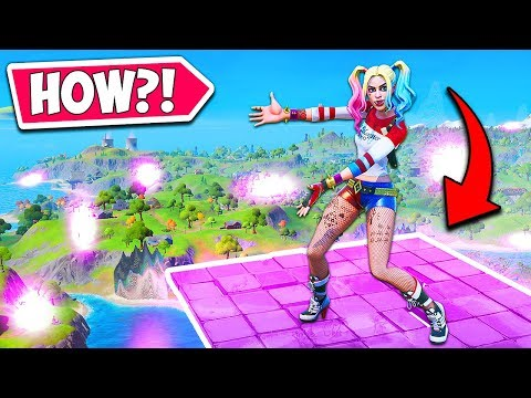 *NEW* INVISIBLE PLATFORMS + BROKEN MAP!! – Fortnite Funny Fails and WTF Moments! #821