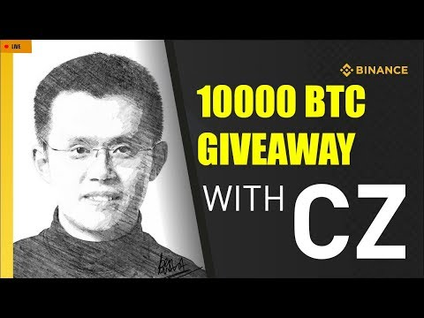 🔴 Binance Live AMA: Bitcoin price prediction & BTC АirDrоp by CZ