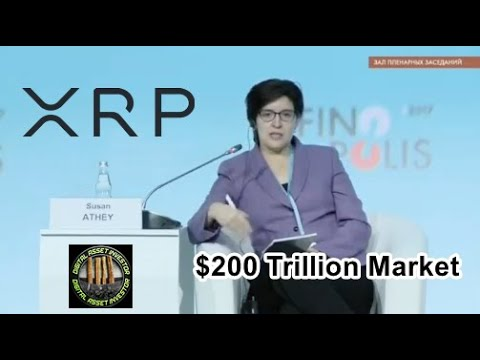 Bitcoin , XRP And Digital Asset Market: $200 Billion to $200 Trillion And Ellen Ripple Video