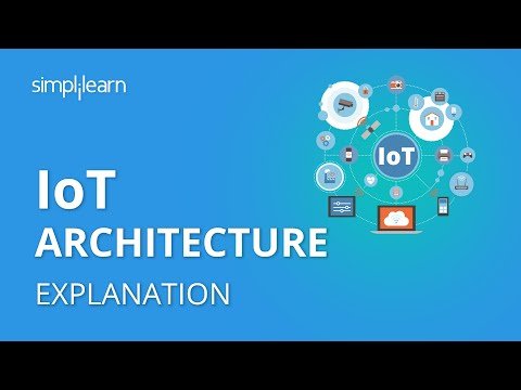 IoT Architecture | Internet Of Things Architecture For Beginners | IoT Tutorial | Simplilearn