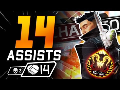 CRYPTO is INSANE in Season 4 – How to play Crypto in Apex Predator & get 14+ ASSISTS