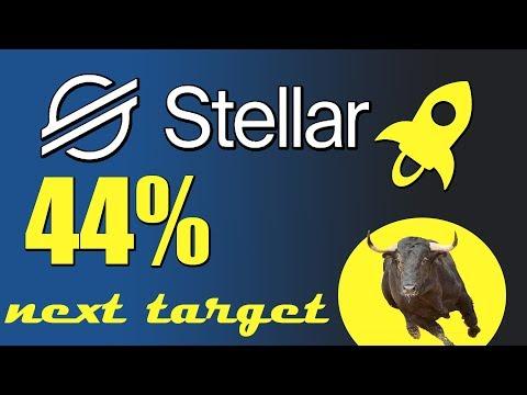 stellar (xlm) price prediction  | xlm 44% price gain next breakout ?
