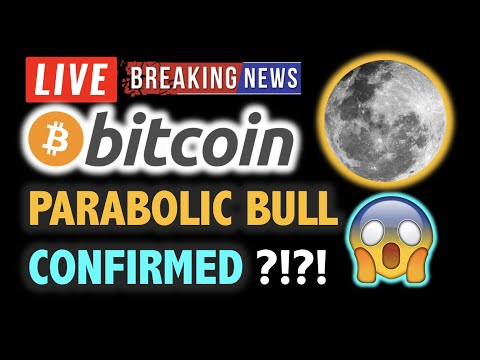 BITCOIN Confirmed PARABOLIC BULL MARKET? 💥❗️LIVE Crypto Analysis TA & BTC Cryptocurrency Price News