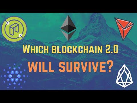 Which Blockchain 2.0 Will Survive? ETH, XTZ, ADA, TRX, NEO, EOS