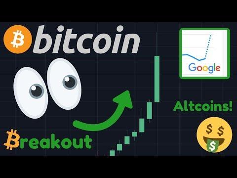 OMG!!! BITCOIN PUMPING!! | BREAKING NEWS: BTC GOOGLE TRENDS PARABOLIC!!! | ALTCOIN SEASON!!!