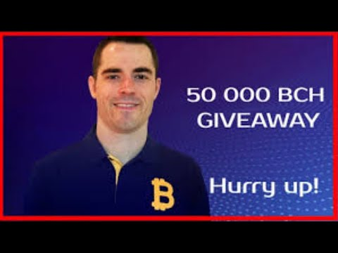 Bitcoin Cash CEO Roger Ver Coinbase Price Prediction & BCH Giveaway!