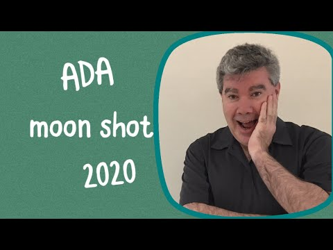 ADA Cardano moon shot in 2020