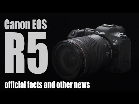 Canon EOS R5: official FACTS plus 850D, SELPHY Square, RF 100-500mm