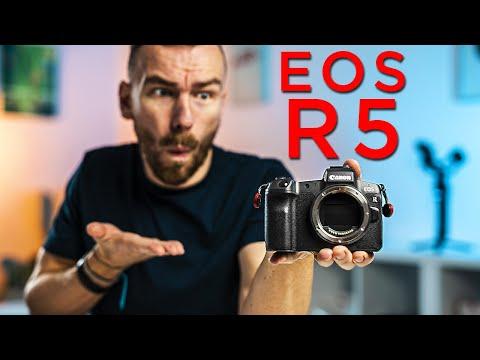 CANON EOS R5 ANGEKÜNDIGT | 8K Video & mehr