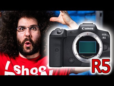 CANON ANNOUNCES EOS R5 | THIS CHANGES EVERYTHING!!!