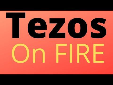 TEZOS XTZ is on FIRE🔥🔥🔥