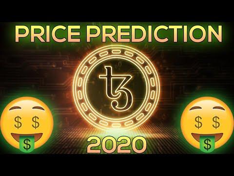 Tezos (XTZ) Price Prediction 2020 & Analysis