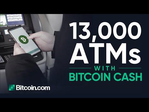 You can use Bitcoin Cash at 13,000 ATMs across Korea