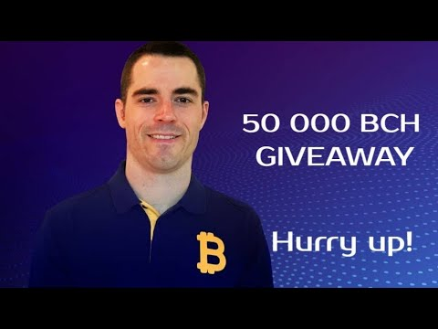 Bitcoin Cash CEO Roger Ver BCH Price Prediction & BCH Coinbase Giveaway