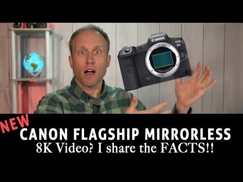 Canon EOS R5 – Flagship Mirrorless Announced – 40MP, 8k, 20fps!!!??