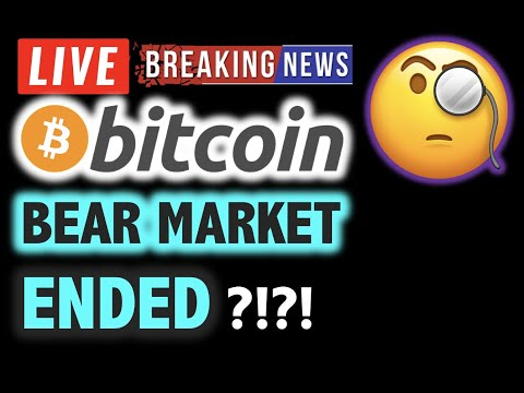 Has The BITCOIN BEAR MARKET Ended? Or… 💥❗️LIVE Crypto Analysis TA & BTC Cryptocurrency Price News