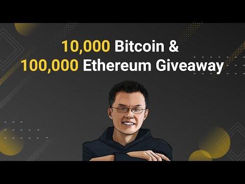 比特币 以太坊 Binance CZ talk about Bitcoin & Ethereum 비트 코인 & 이더 리움 Giveaway Binance 比特币 以太坊