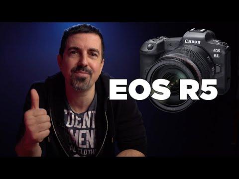 CANON EOS R5 – Entwicklung einer spiegellosen Vollformatkamera für Profis angekündigt   deutsch