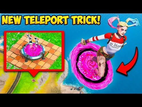 *NEW TRICK* TELEPORT TO HIGH GROUND! – Fortnite Funny Fails and WTF Moments! #824