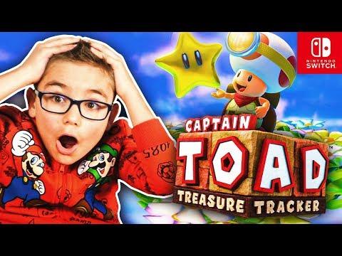 SWAN TESTE CAPTAIN TOAD (Treasure Tracker) – NINTENDO SWITCH