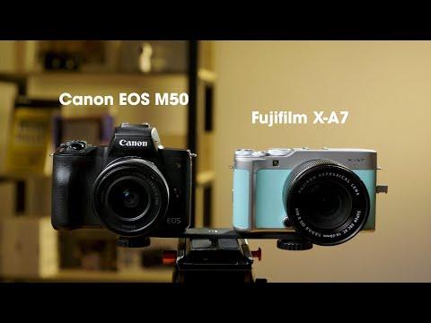 Máy ảnh làm Vlog hợp lý nhất quả đất? Canon EOS M50 hay Fujifilm X-A7?