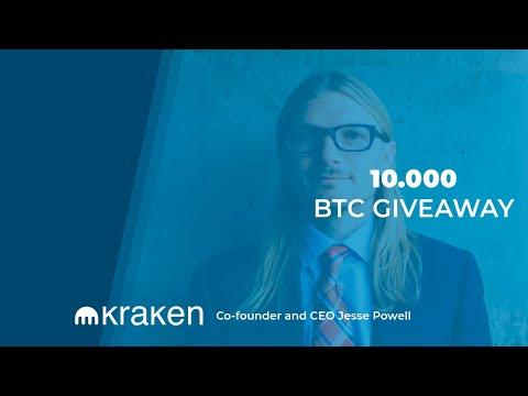 Kraken CEO announced the greatest crypto AirDrop. 10,000 Bitcoin