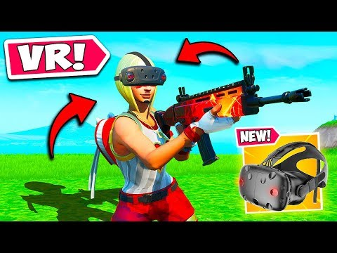 *NEW CONCEPT* PLAY FORTNITE IN VR?! – Fortnite Funny Fails and WTF Moments! #825