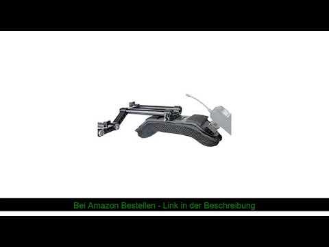 ☀️ [Update Version] NICEYRIG Kamera Schulterpolster mit 15mm Railblock und Aluminiumlegierung Ruten