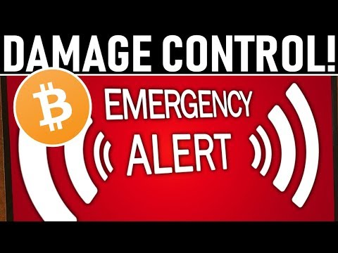 CRYPTO DAMAGE CONTROL! – DON'T FREEZE UP! – CME GAP ABOVE US!? – WAS THIS THE TOP FOR BTC & ALTS?