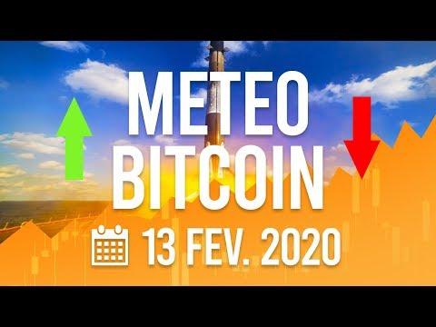 La Météo Bitcoin FR – Jeudi 13 février 2020  – Analyse Crypto Fanta