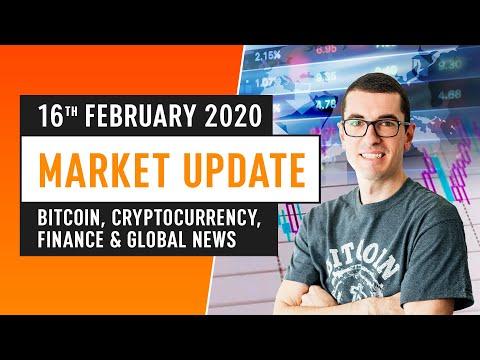 Bitcoin, Cryptocurrency, Finance & Global News – February 16th 2020