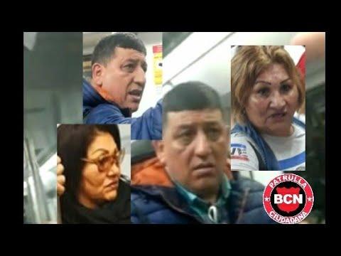 Patrulla Ciudadana BCN – Rompen móvil a carterista – Pickpocket mobile broken