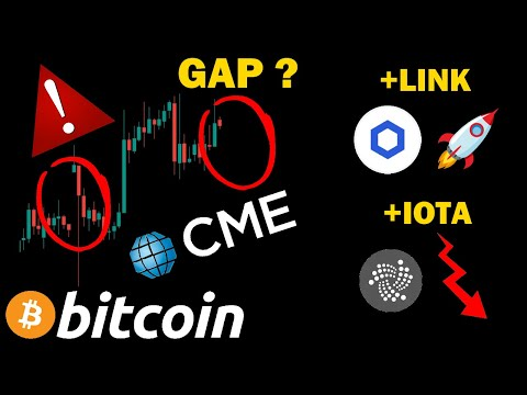 BITCOIN ATTENTION AU GAP !!! + LINK TO THE MOON ? IOTA VERS LES ENFERS ? ANALYSE BTC CRYPTO MONNAIE