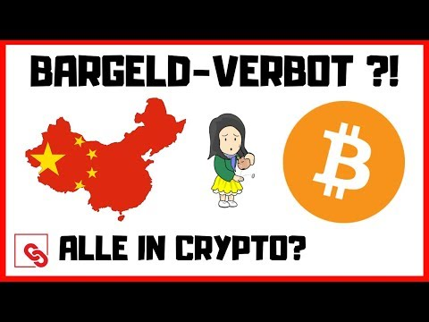 Bargeldverbot in China!? Wird die aktuelle Situation Kryptowährungen befeuern? BTC Dump was nun?