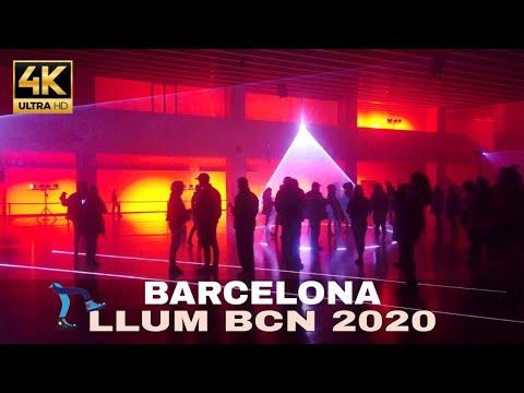 LLUM BCN   Festival of Light Arts Barcelona 2020 [4K]