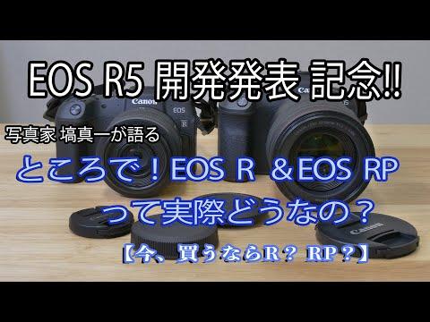 【キヤノン EOS R5 開発発表記念!!】ところで!EOS R & EOS RP って実際どうなの?